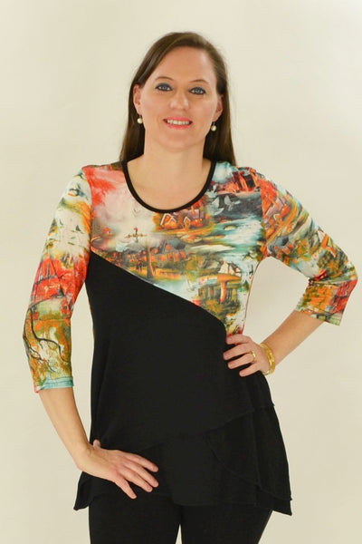Autumn River Tunic