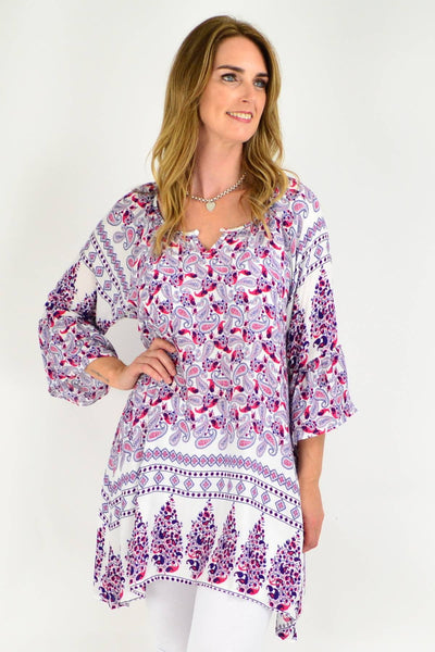 Relaxed Ruby Tunic Top