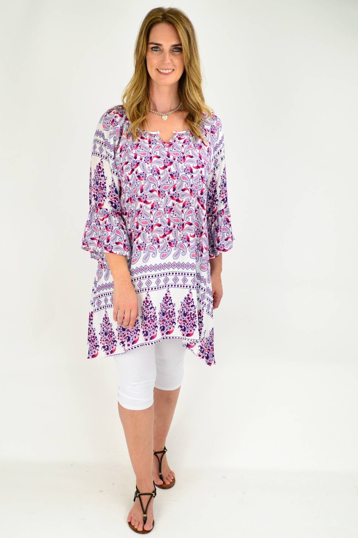 Relaxed Ruby Tunic Top | I Love Tunics | Tunic Tops | Tunic | Tunic Dresses  | womens clothing online