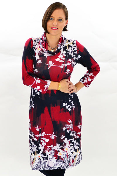 Dragonfly Tunic Dress | I Love Tunics | Tunic Tops | Tunic Dresses | Women's Tops | Plus Size Australia | Mature Fashion
