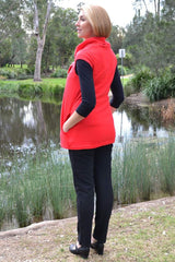 Red Robin Tunic | I Love Tunics | Tunic Tops | Tunic Dresses | Women's Tops | Plus Size Australia | Mature Fashion