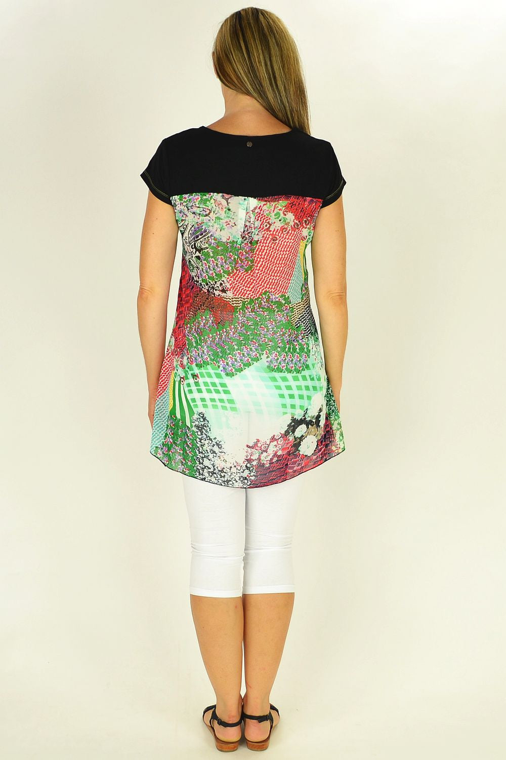 Colourful Clarity Shapes Tunic - at I Love Tunics @ www.ilovetunics.com = Number One! Tunics Destination
