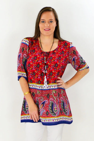 Molly Tunic Top - at I Love Tunics @ www.ilovetunics.com = Number One! Tunics Destination