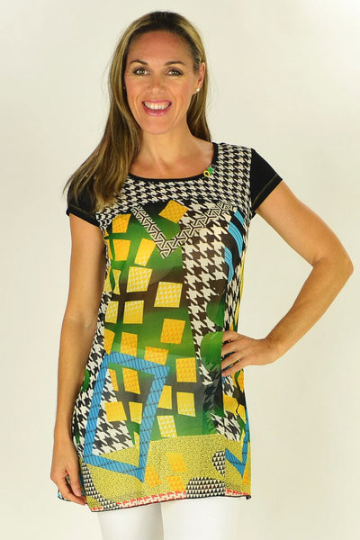 Clarity Shapes Tunic