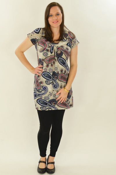 Long Paisley Tunic
