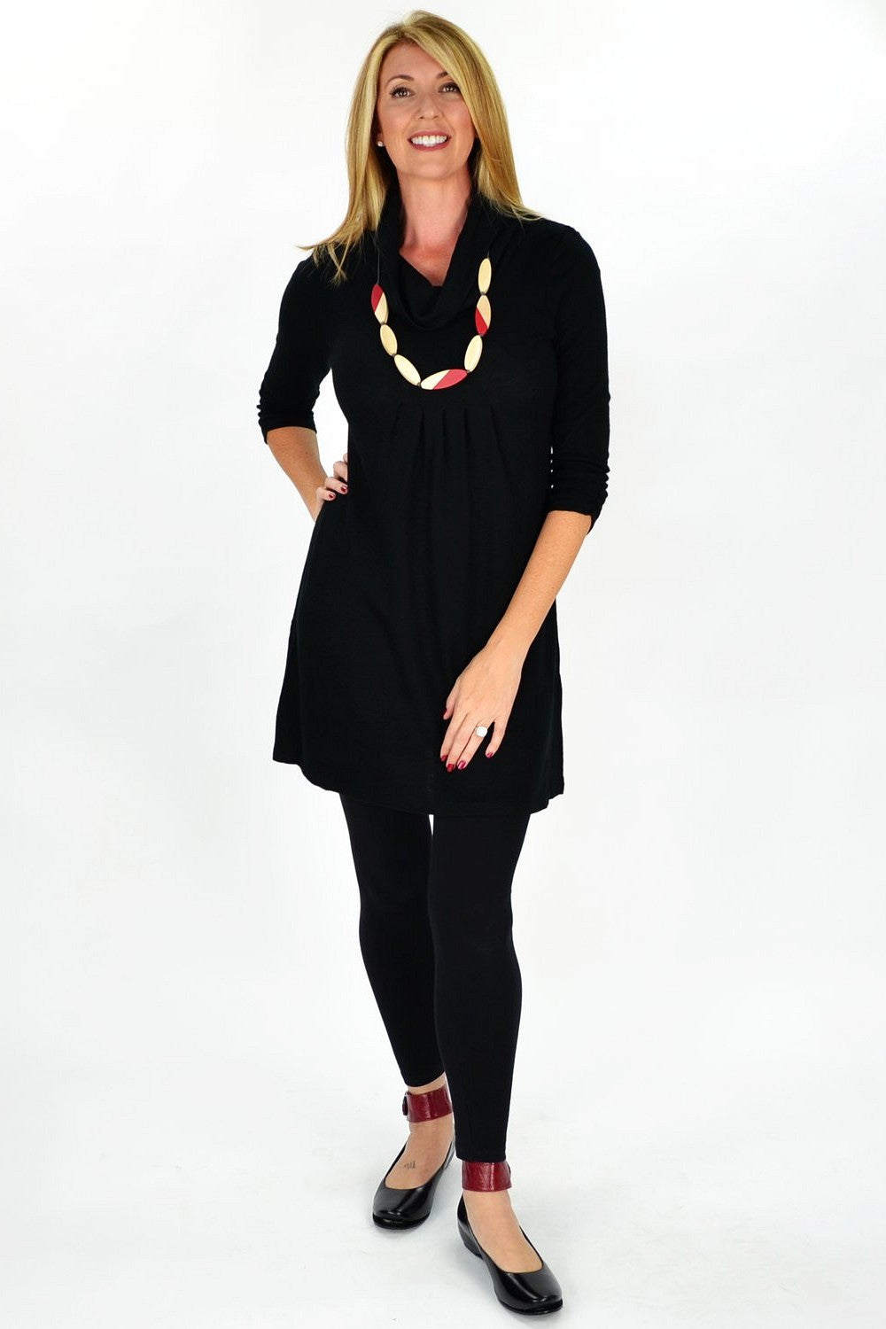 Black Beauty Tunic - at I Love Tunics @ www.ilovetunics.com = Number One! Tunics Destination