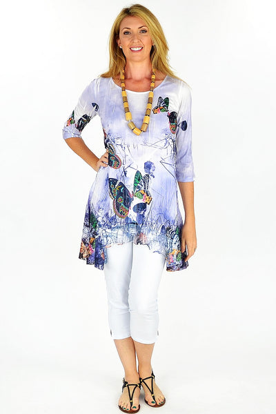 Barbara's Butterfly Tunic