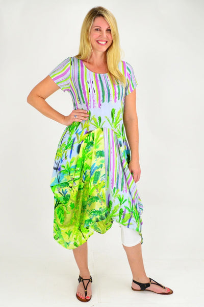 Villa Melzi Orientique Bubble Tunic Dress