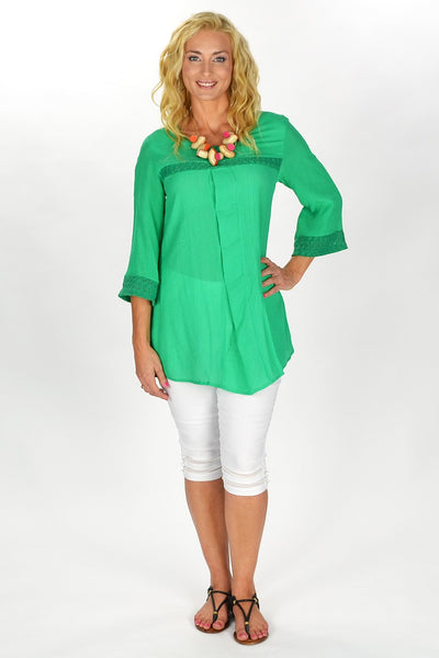Green Goddess Tunic