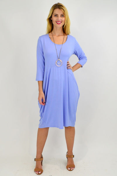 Sky Blue Sophia Tunic Dress