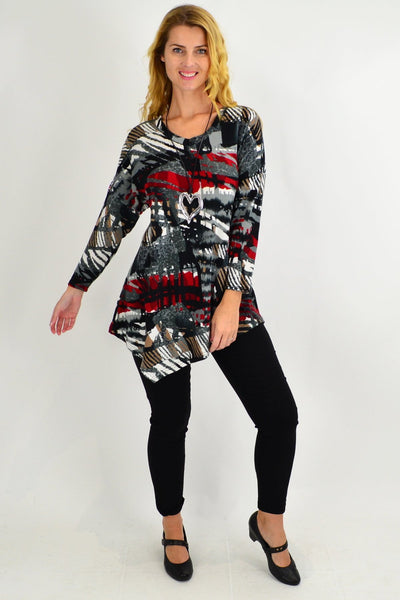 Rochelle V Neck Tunic