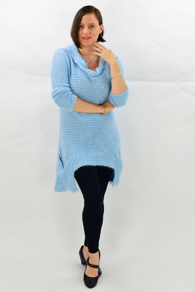 Light Blue Katherine Tunic