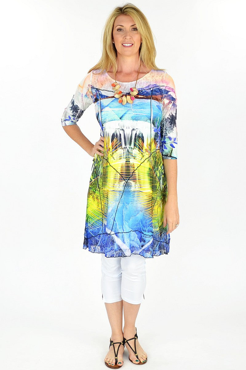 Island Paradise Tunic - at I Love Tunics @ www.ilovetunics.com = Number One! Tunics Destination