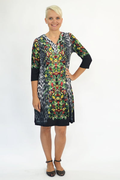 Animal Floral Tunic