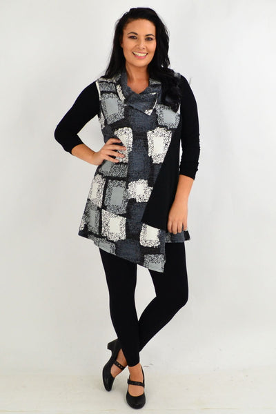 Charlotte Oversized Collar Tunic