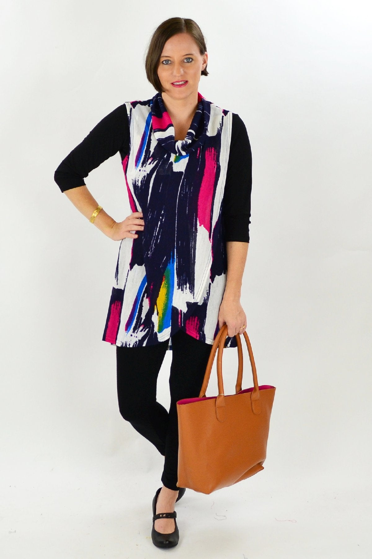 Charmaine Tunic | I Love Tunics | Tunic Tops | Tunic Dresses | Women's Tops | Plus Size Australia | Mature Fashion