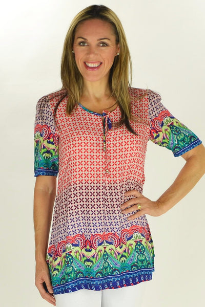Joe Crosses Tunic - at I Love Tunics @ www.ilovetunics.com = Number One! Tunics Destination