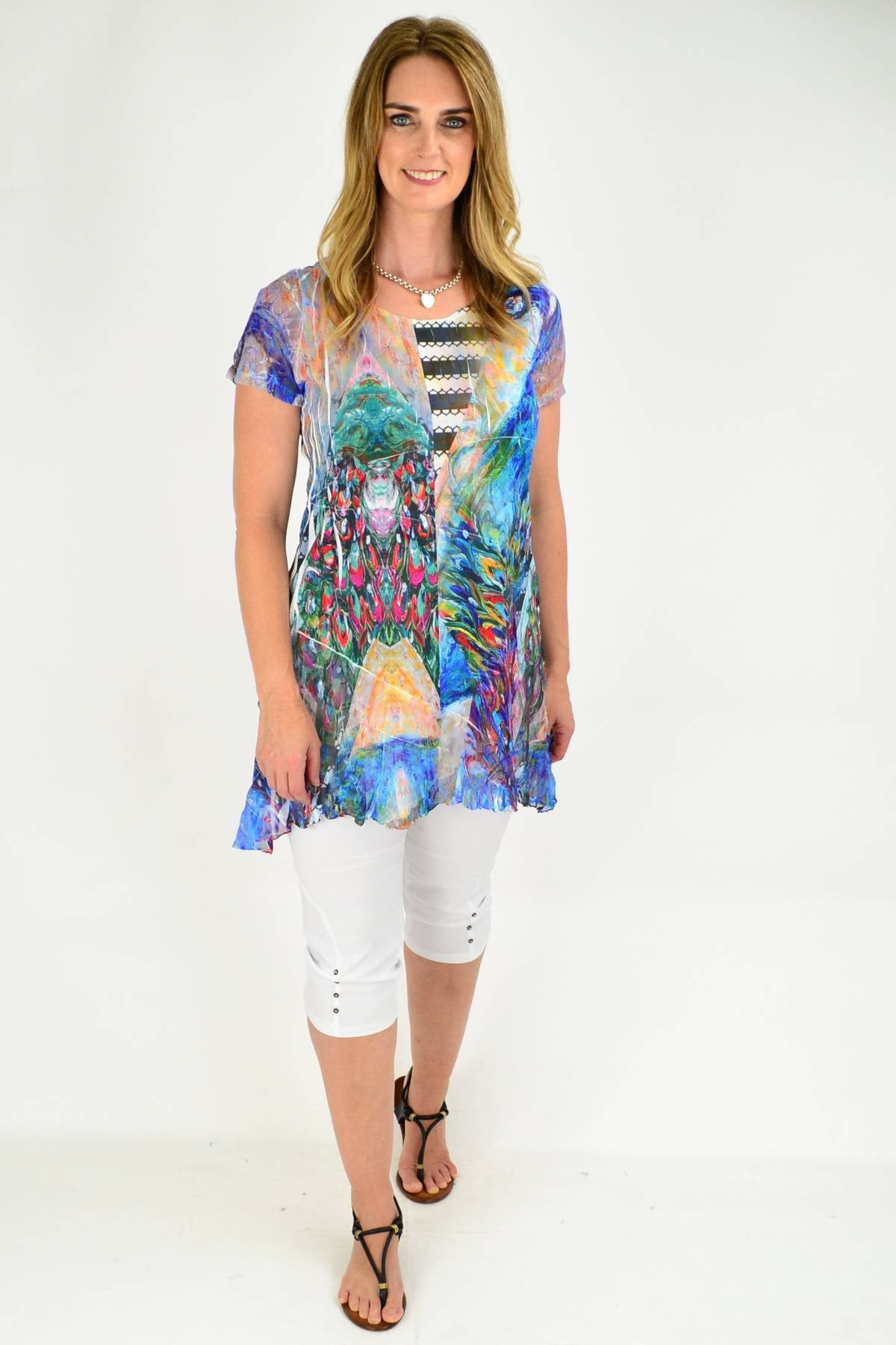 ladies tunic top by david jessie
