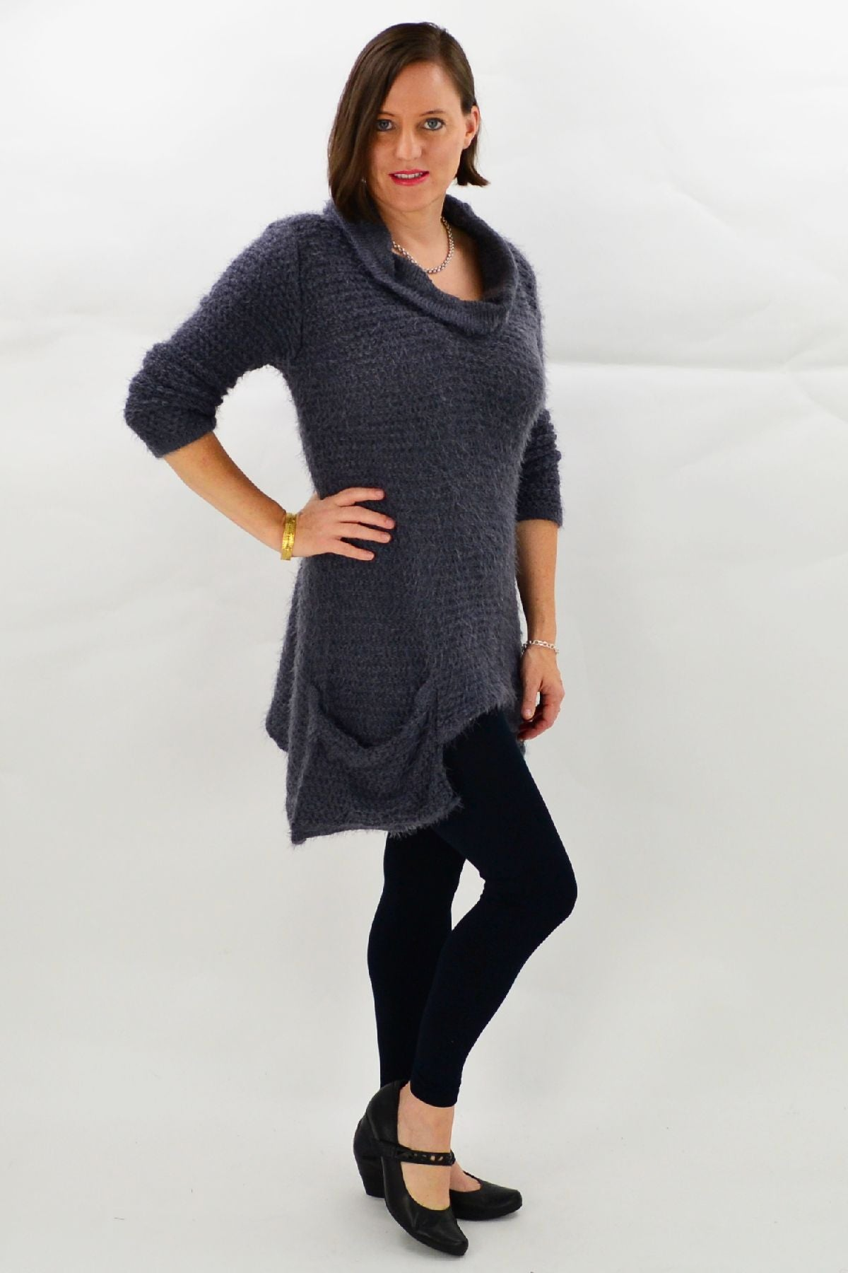Charcoal Katherine Tunic | I Love Tunics | Tunic Tops | Tunic | Tunic Dresses  | womens clothing online