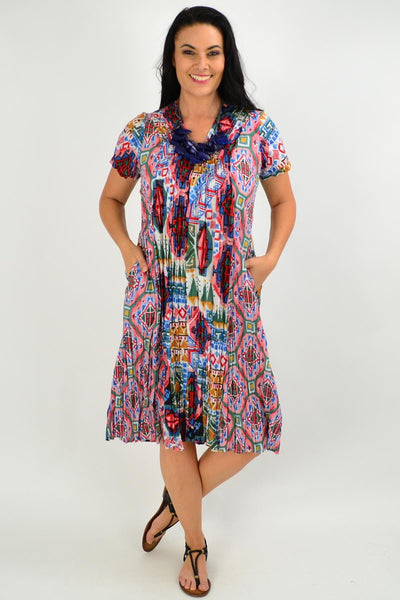Santiago Crinkle Tunic Dress