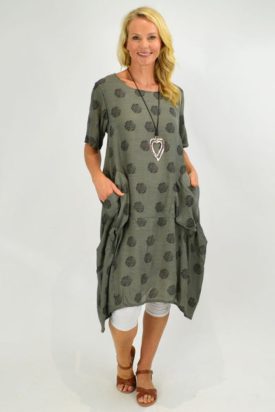 Grey Bubble Tunic Dress | I Love Tunics | Tunic Tops | Tunic | Tunic Dresses  | womens clothing online