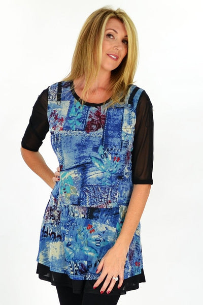 Cafe Tunic - at I Love Tunics @ www.ilovetunics.com = Number One! Tunics Destination