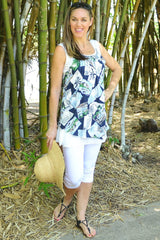 Tropical Island Clarity Tunic - at I Love Tunics @ www.ilovetunics.com = Number One! Tunics Destination