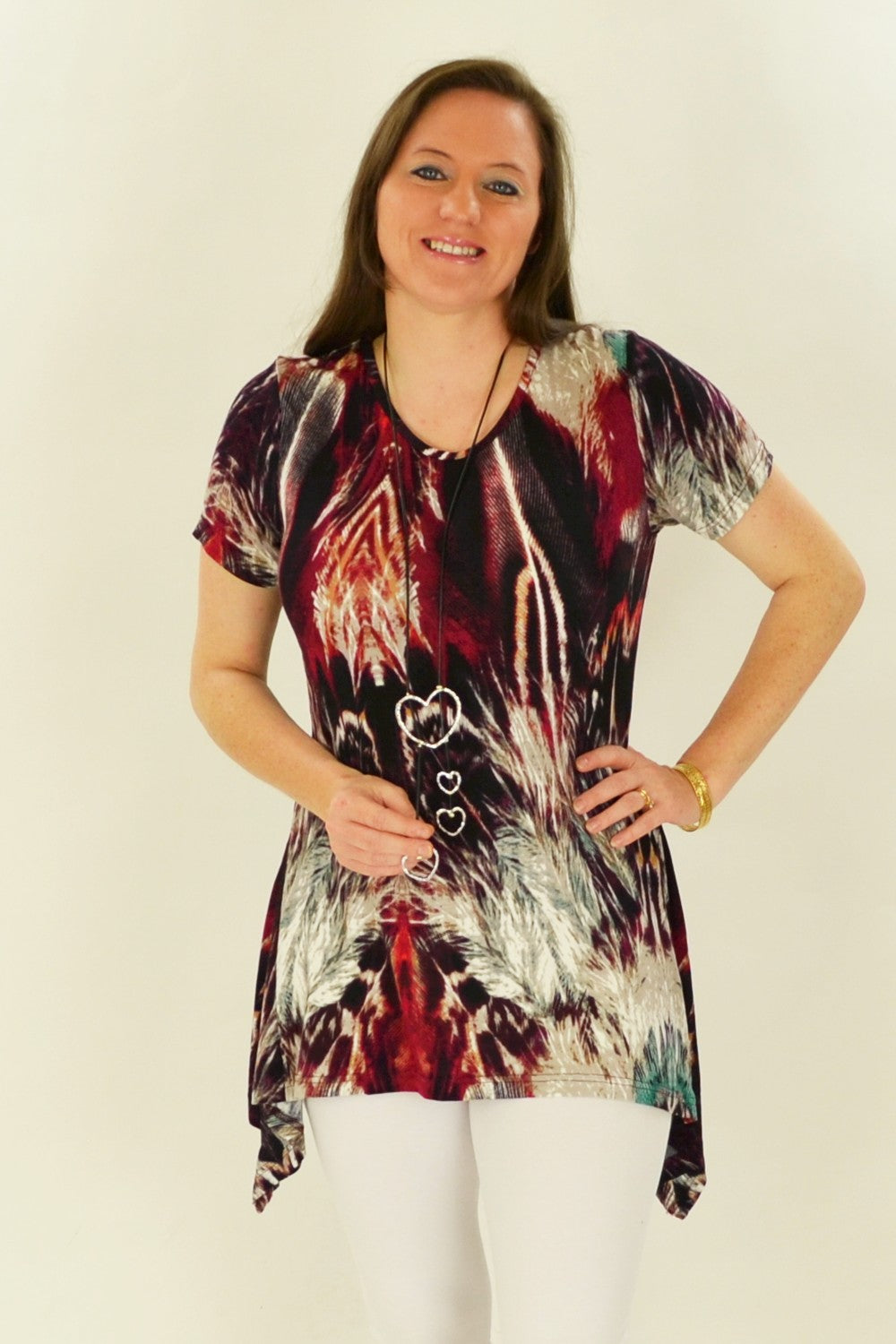 Jacinta Jersey Tunic Top - at I Love Tunics @ www.ilovetunics.com = Number One! Tunics Destination