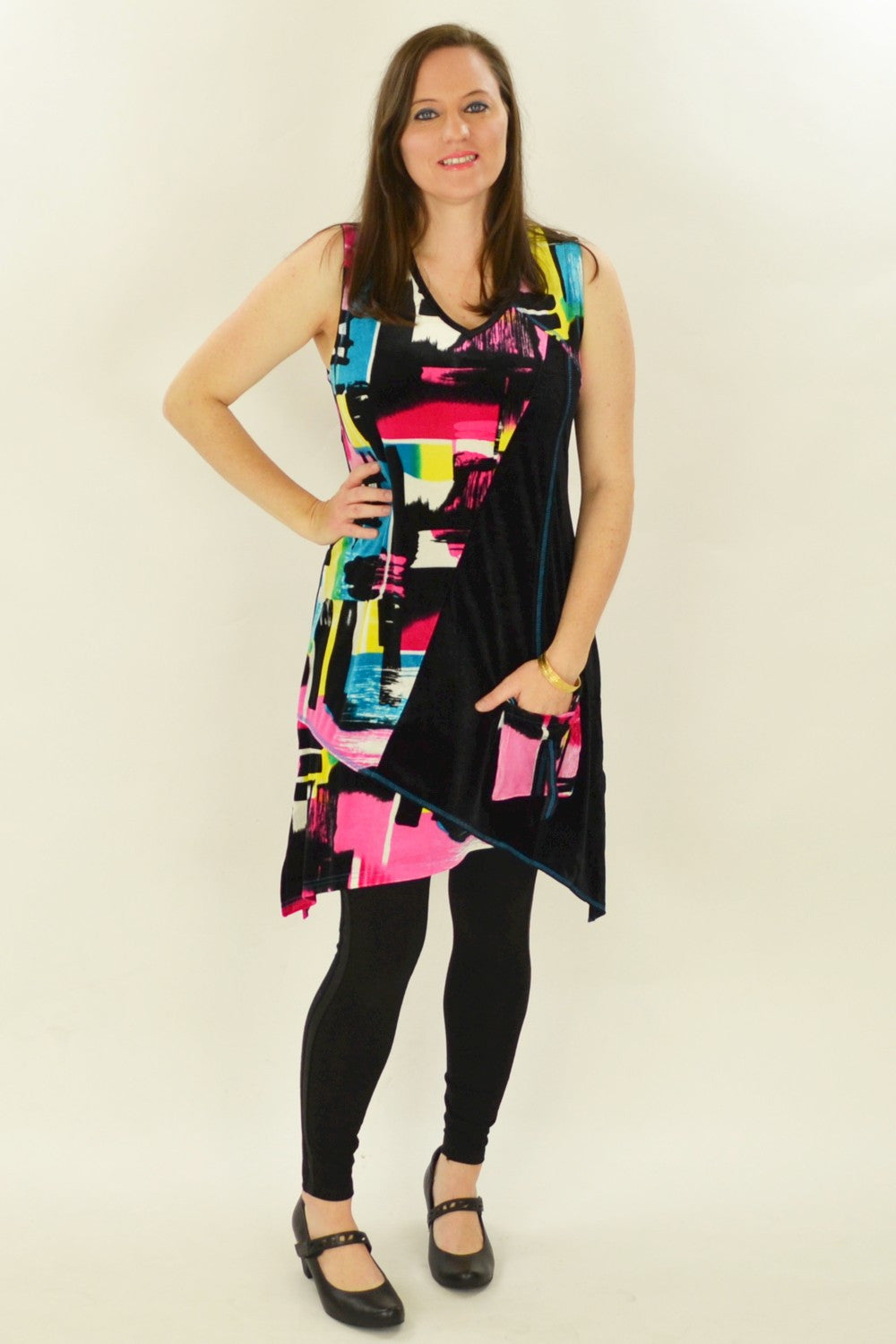 Pink Veronica Tunic - at I Love Tunics @ www.ilovetunics.com = Number One! Tunics Destination