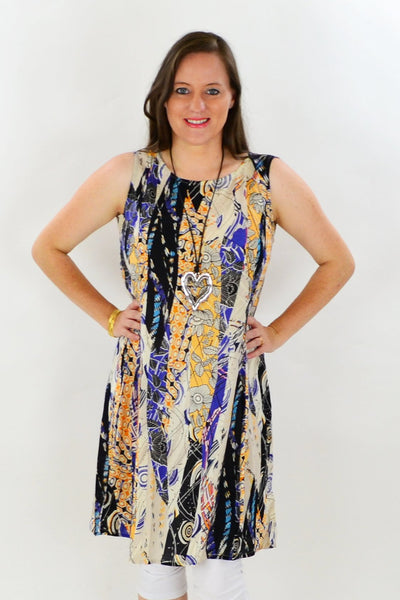 Orientique Brunate Tunic Dress