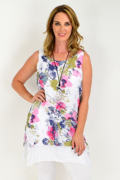 cotton crinkle ladies tunics
