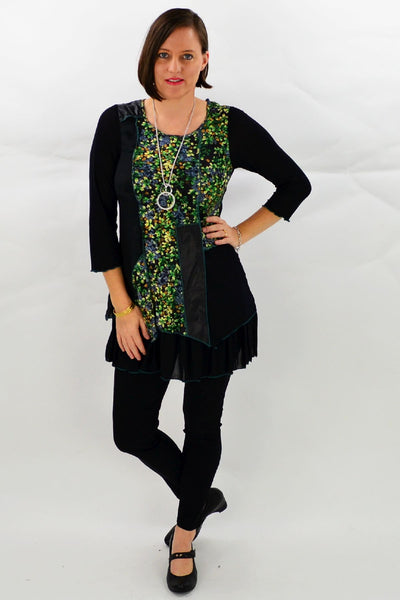 Green Meadow Tunic