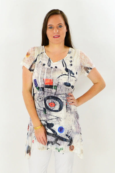 Art Class Tunic Top | I Love Tunics | Tunic Tops | Tunic | Tunic Dresses  | womens clothing online