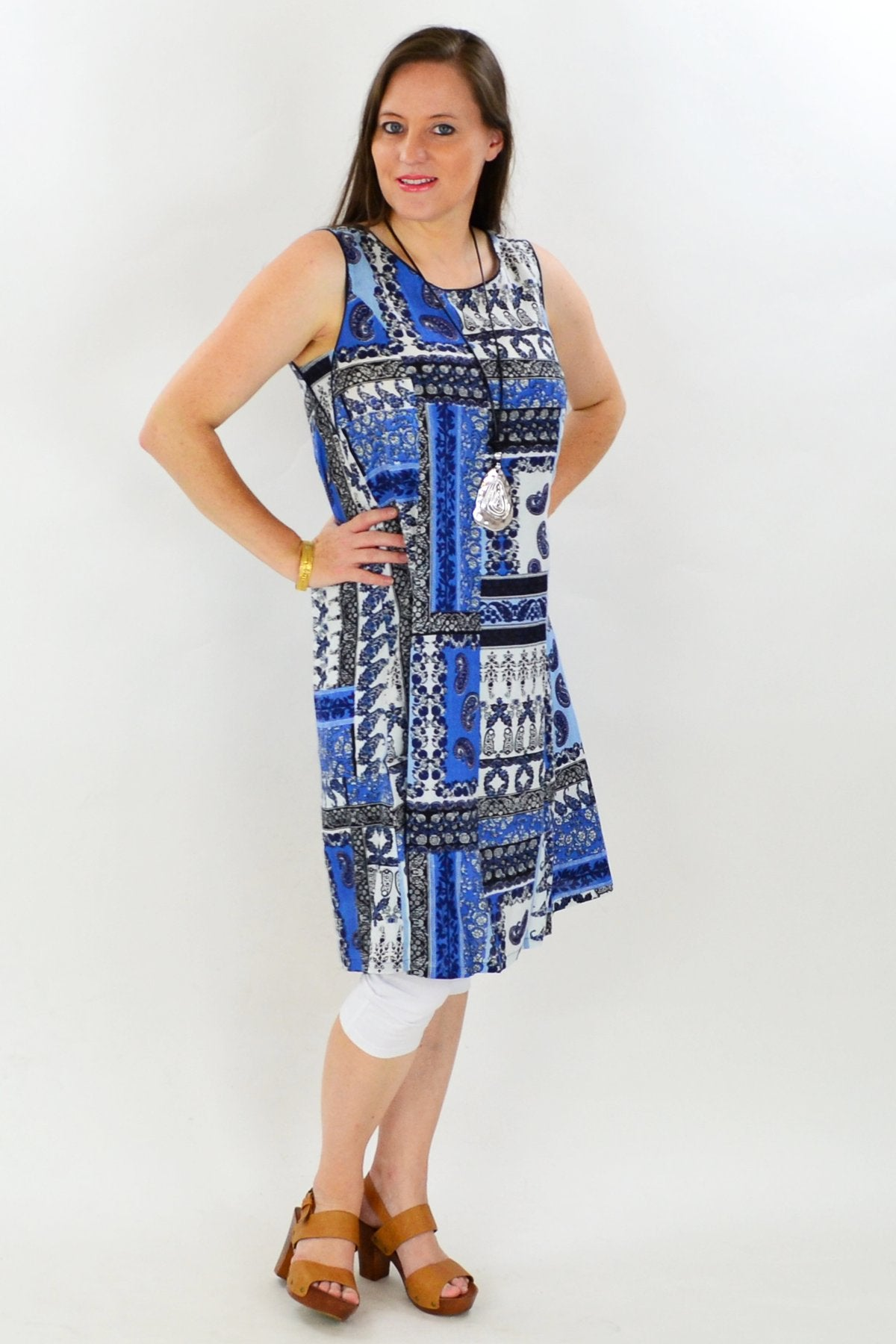 Orientique Mykonos Tunic Dress - at I Love Tunics @ www.ilovetunics.com = Number One! Tunics Destination