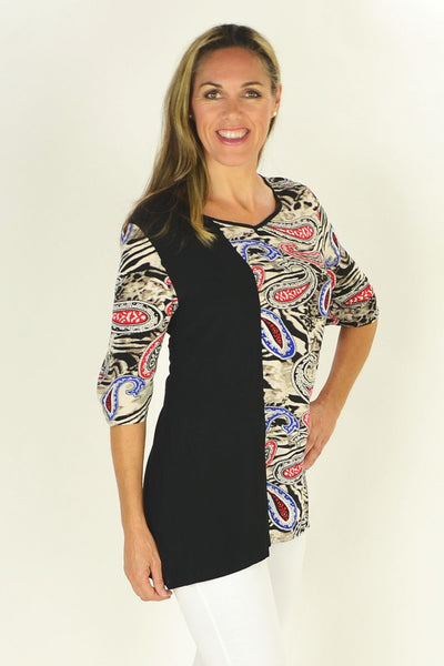 Penny Paisley Tunic | I Love Tunics | Tunic Tops | Tunic | Tunic Dresses  | womens clothing online