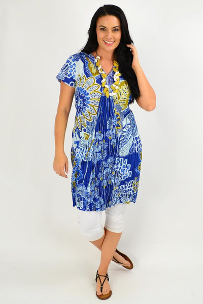 Seville Shift Orientique Tunic Dress