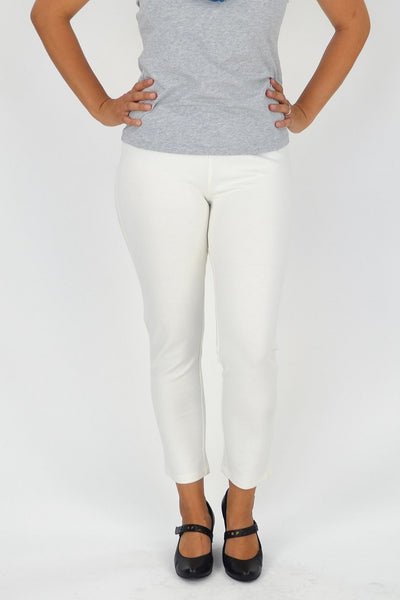 Cream Winter Pants - at I Love Tunics @ www.ilovetunics.com = Number One! Tunics Destination