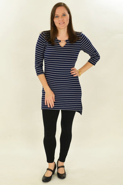 Navy Stripe Belinda Tunic