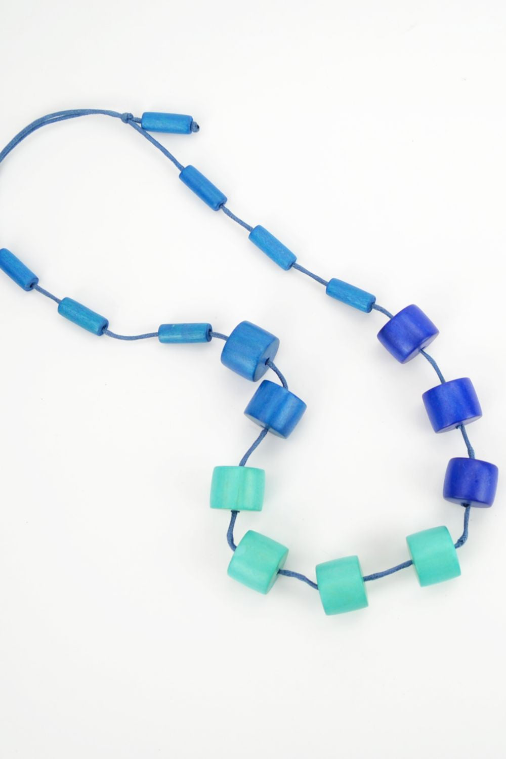 Pretty in Blue Necklace - at I Love Tunics @ www.ilovetunics.com = Number One! Tunics Destination