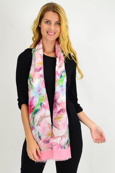 The Hummingbird Print Scarf