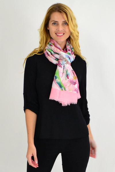 The Hummingbird Print Scarf - I Love Tunics