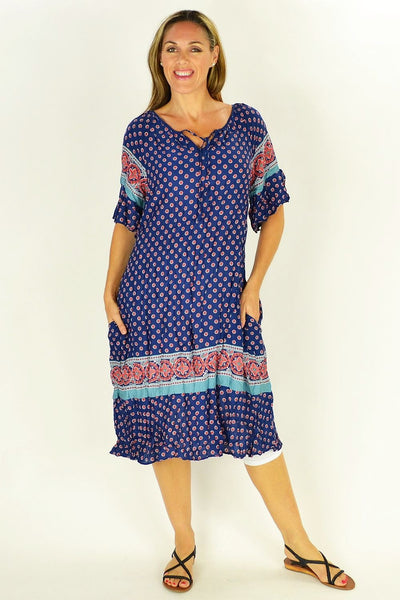 Flower in the Meadow Tunic Dress