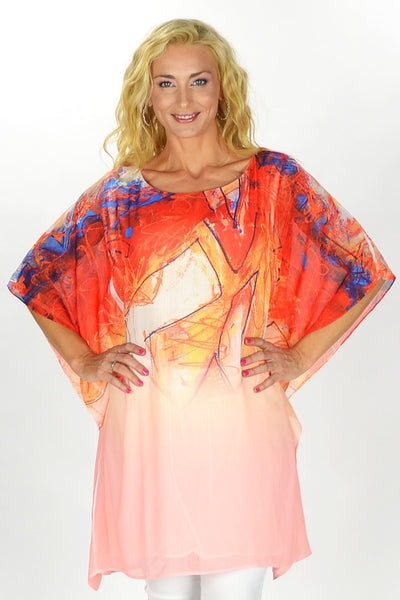 Apricot Delight Tunic - at I Love Tunics @ www.ilovetunics.com = Number One! Tunics Destination