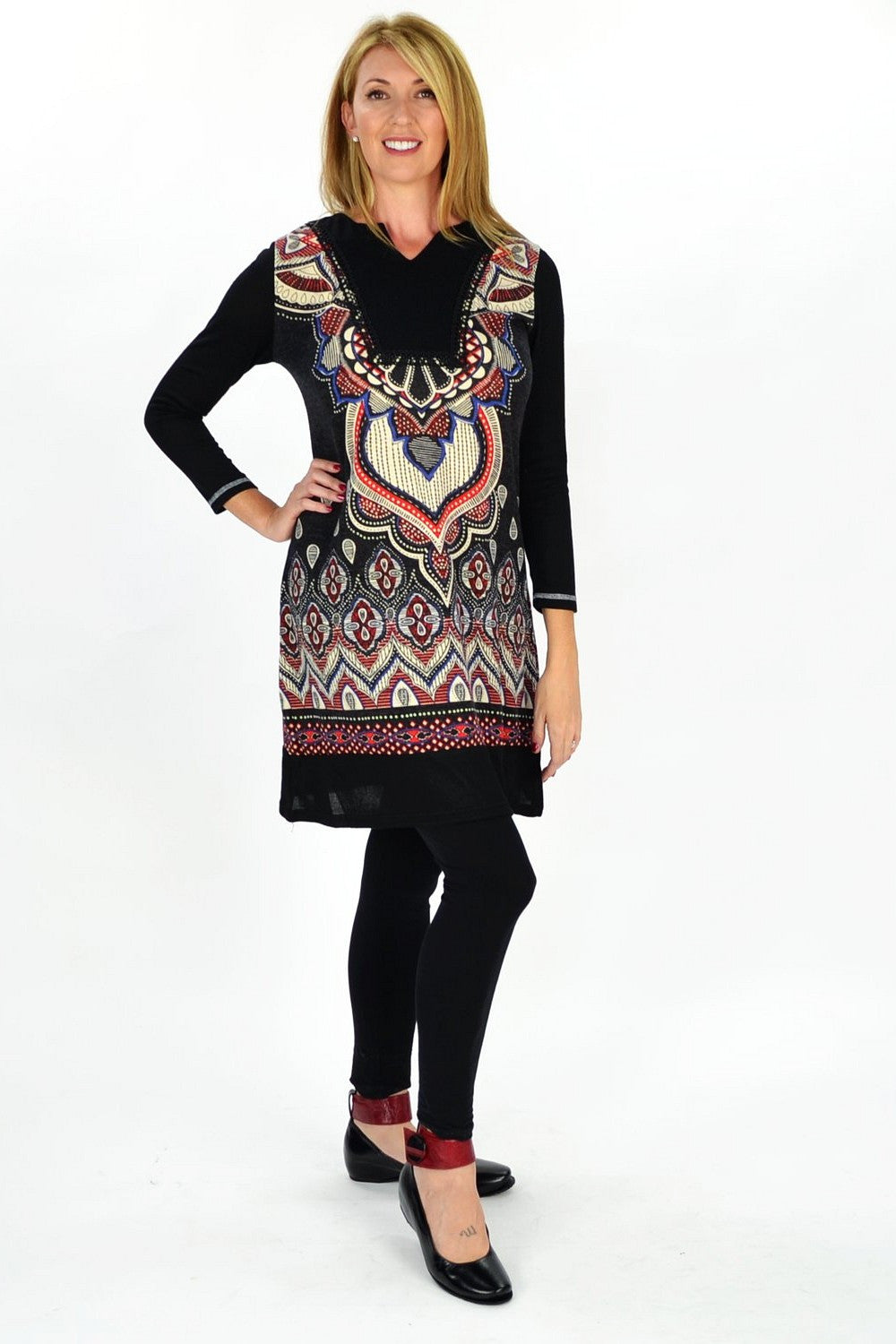 Red Victoria Tunic | I Love Tunics | Tunic Tops | Tunic | Tunic Dresses  | womens clothing online