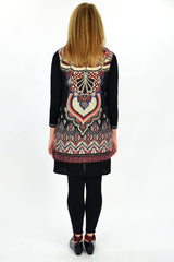 Red Victoria Tunic - at I Love Tunics @ www.ilovetunics.com = Number One! Tunics Destination
