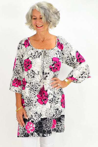 Short Pop Tunic Top | I Love Tunics | Tunic Tops | Tunic | Tunic Dresses  | womens clothing online