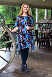 Rachel A Line Tunic Dress | I Love Tunics | Tunic Tops | Tunic Dresses | Women's Tops | Plus Size Australia | Mature Fashion