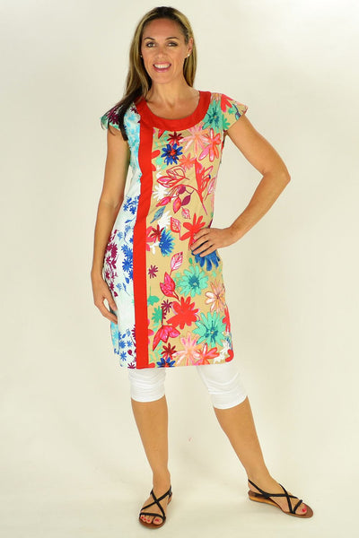 Floating Flower Tunic