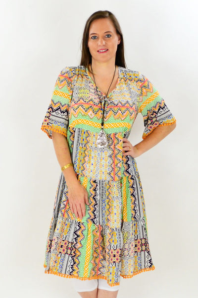 Trudys Tropical Tunic Dress | I Love Tunics | Tunic Tops | Tunic | Tunic Dresses  | womens clothing online