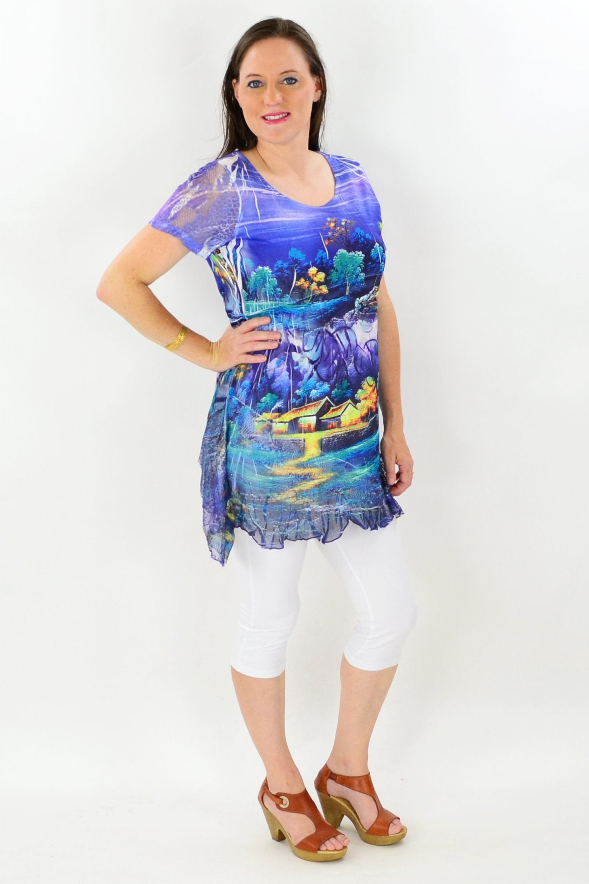 Moonlight River Tunic Top | I Love Tunics | Tunic Tops | Tunic | Tunic Dresses  | womens clothing online